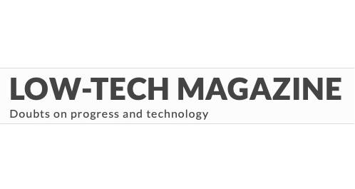 Low Tech Magazine